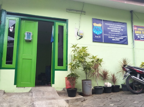 Kantor Komisariat PMII Sunan Kalijaga Kota Malang